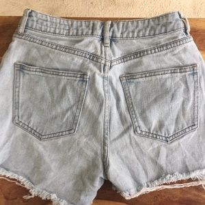 "PacSun high waisted ""mom"" jean shorts size 23"